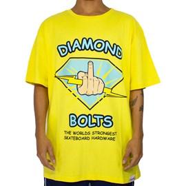 Camiseta Diamond Bolts Yellow D20DMPA022