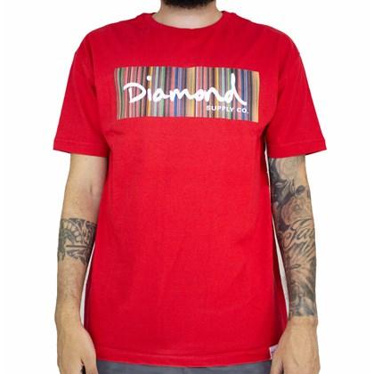 Camiseta Diamond Color Ply Box Red A20DMPA014