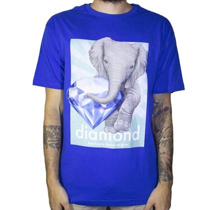 Camiseta Diamond Endagered C19DMPA010 Royal