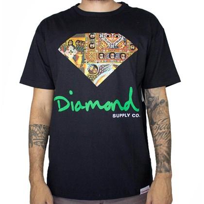 Camiseta Diamond Ethiopian Black A20DMPA008