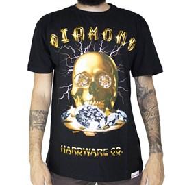 Camiseta Diamond Gold Skull C19DMPA004 Black