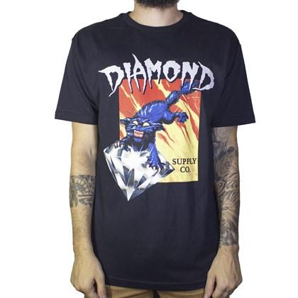 Camiseta Diamond Greed C19DMPA005 Black