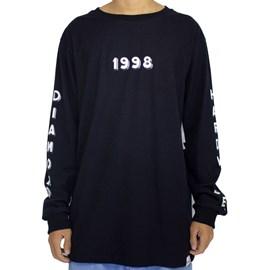 Camiseta Diamond Hardware 98 Long Sleeve Black D20DMPC27