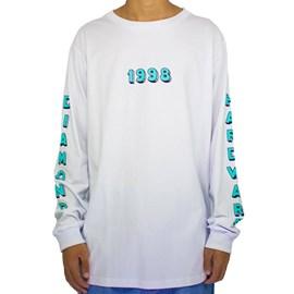 Camiseta Diamond Hardware 98 Long Sleeve White D20DMPC27