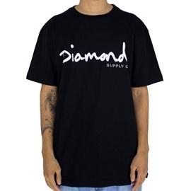 Camiseta Diamond Og Script Black Z15DPA01