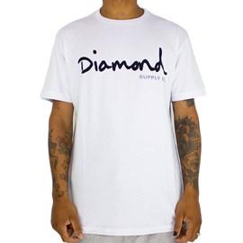 Camiseta Diamond Og Script White Z15DPA01