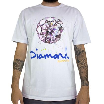 Camiseta Diamond Splash Sign White A20DMPA012