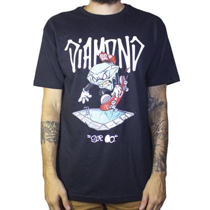 Camiseta Diamond Sup Pool D19dmpa006 Black
