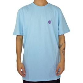 Camiseta Element Basic Crew Azul Claro