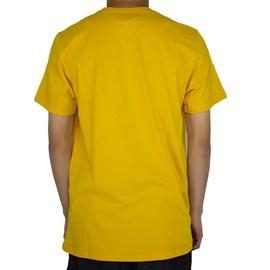 Camiseta Element Blazin 3D Amarelo