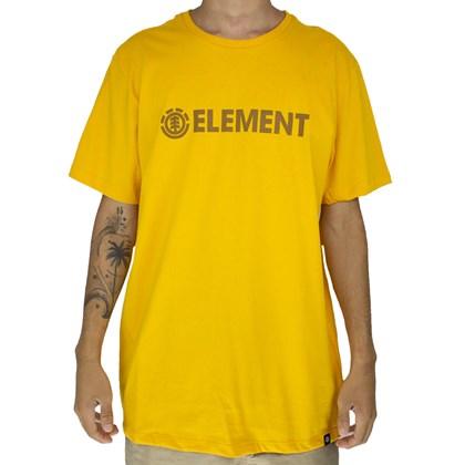 Camiseta Element Blazin Amarelo