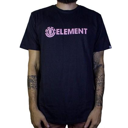 Camiseta Element Blazin Preto