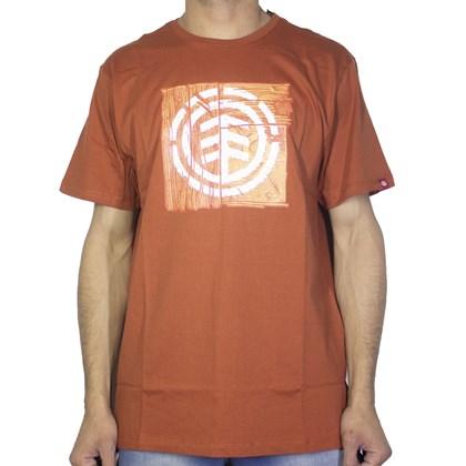 Camiseta Element DriftWood Laranja