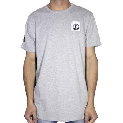 Camiseta Element Evan Cinza