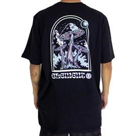 Camiseta Element Fungi Preto