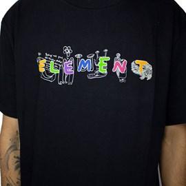 Camiseta Element Galaxy Preto