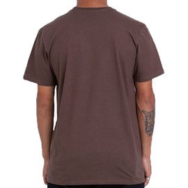 Camiseta Element Glimpe Horizontal Marrom