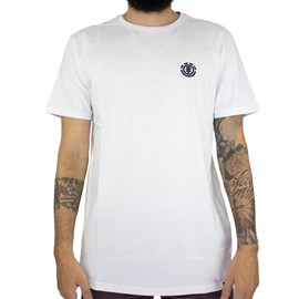 Camiseta Element Logo Basic Branco