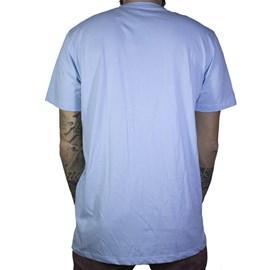 Camiseta Element Minimal Logo Azul Claro