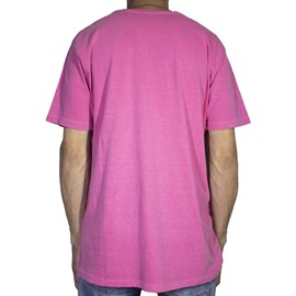 Camiseta Element Minimal Logo Rosa