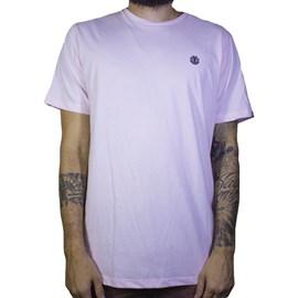 Camiseta Element Minimal Logo Rosa Claro