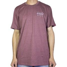 Camiseta Element Neon Vinho