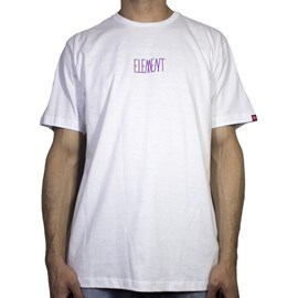 Camiseta Element Oversize Branco
