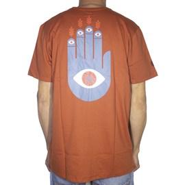 Camiseta Element Palm Laranja