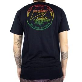 Camiseta Element Pma Fade Preto