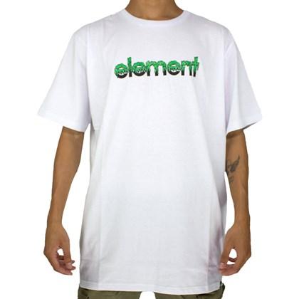 Camiseta Element Proton Capsule Branco