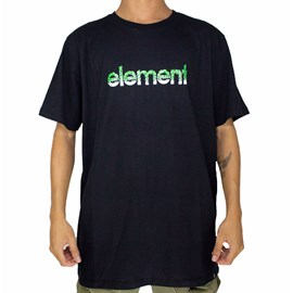 Camiseta Element Proton Capsule Preto
