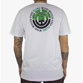 Camiseta Element Proton Seal Branco