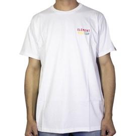Camiseta Element Rise Up Branca
