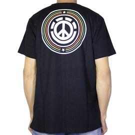 Camiseta Element Rise Up Preto