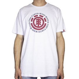 Camiseta Element Seal Branco