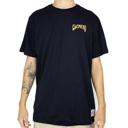 Camiseta Element Serpentine Preto