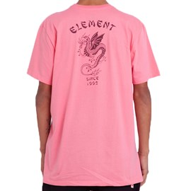 Camiseta Element Take Out Rosa