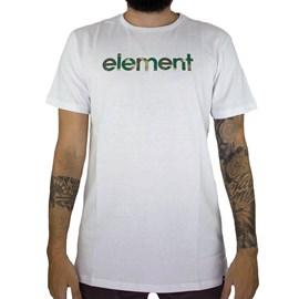 Camiseta Element Water Camo Mark Branco