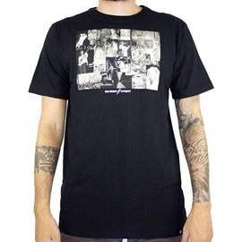 Camiseta Element X Bad Brains Collage Preto