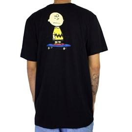 Camiseta Element X Peanuts Kruzer Preto