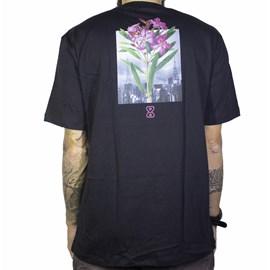 Camiseta future Botanical Preta