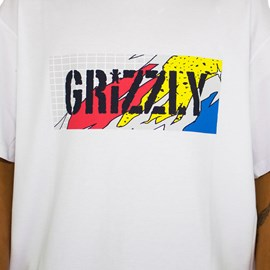 Camiseta Grizzly All That Stamp White GMD2001P36