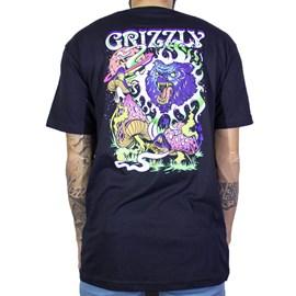 Camiseta Grizzly Black Light Bear Gma1903p03