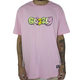 Camiseta Grizzly Fuzzy GMD1901P04 Pink