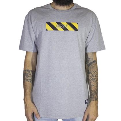 Camiseta Grizzly Hazard Stamp Cinza