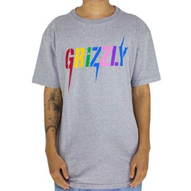 Camiseta Grizzly Incite Grey GMD2001P08