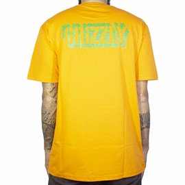 Camiseta Grizzly Leaf Cutout Laranja
