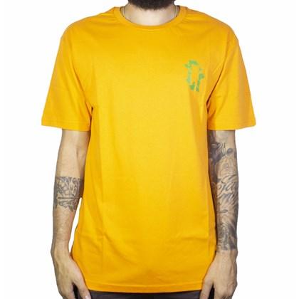 Camiseta Grizzly Leaf Cutout Laranja