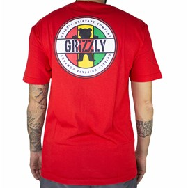 Camiseta Grizzly Most High GMB2001P04 Red