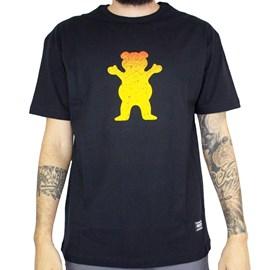 Camiseta Grizzly Og Bear Fadeway Black GMA2001P16